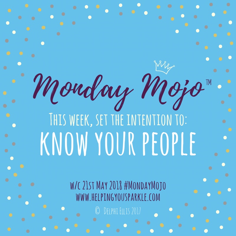 Monday Mojo – Know Your People